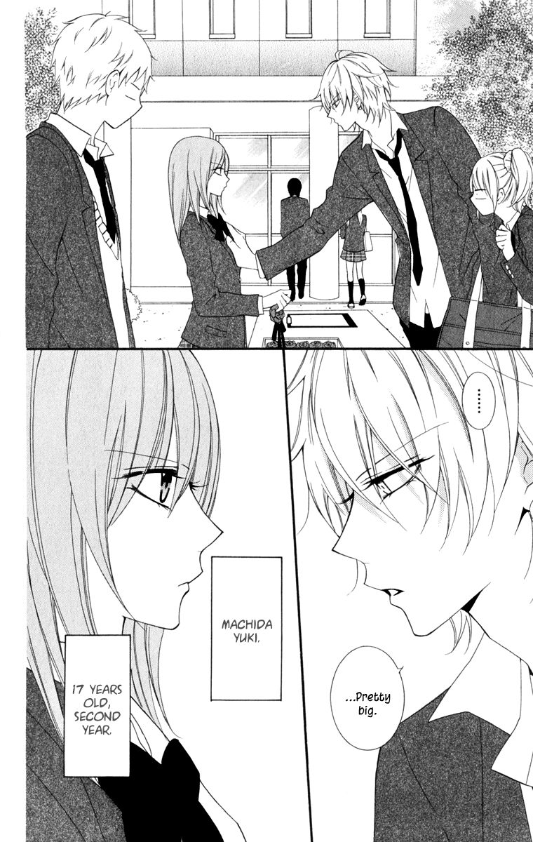 A second away from a kiss manga read