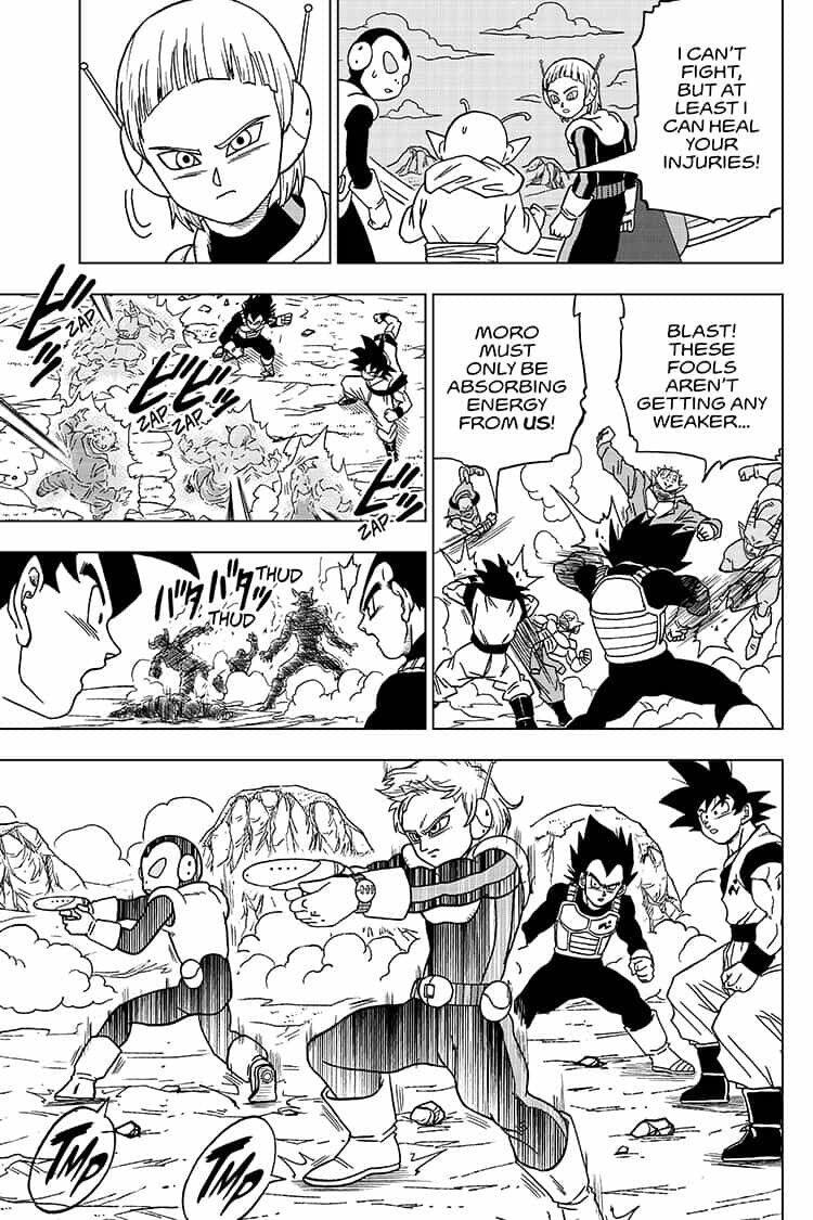 Dragon Ball Super 50 Read Dragon Ball Super Chapter 50 Online