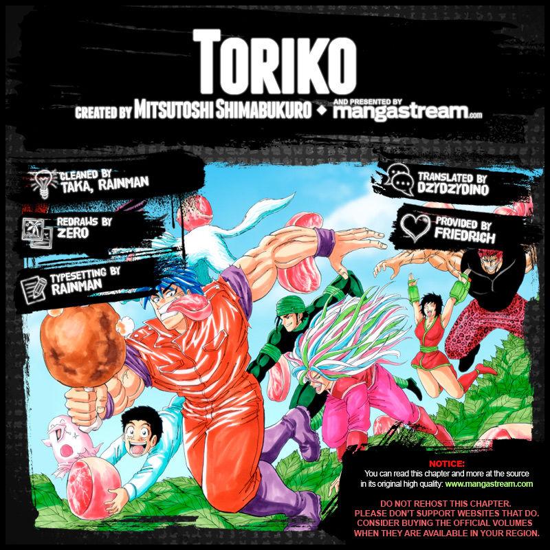 Read Toriko Chapter 369 Online